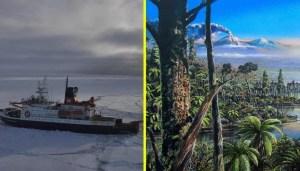 Hallan pruebas de lo inimaginable bajo la Antártida