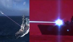 La Marina de los EE.UU prueba con éxito nueva arma láser de alta energía y derriba un avión no tripulado