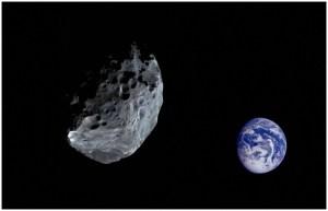 Asteroide de 300 metros se mueve a casi 13 km/seg. hacia la Tierra