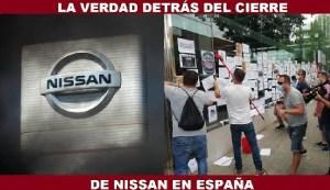La verdad detrás del cierre de Nissan en España