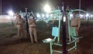 La policía india investiga una máquina de gimnasio embrujada que se mueve por sí sola