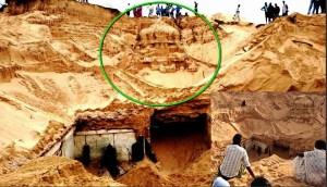 Jóvenes hallan un templo de Shiva de 300 años de antigüedad enterrado en la India