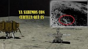 Describen qué es la Sustancia Gelatinosa Hallada por el Róver Chino en la Cara Oculta de la Luna