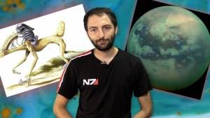La Luna TITAN podría ocultar vida basada en Plástico y Silicio