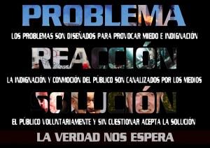 Problema-Reacción-Solución