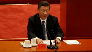 """Xi Jinping: """"Que el mundo sepa que no se puede jugar con el pueblo chino"""""""