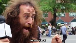 Sabias palabras de un loco callejero