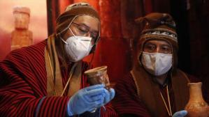 Encuentran ofrendas de Tiwanaku de hace 1500 años en Bolivia