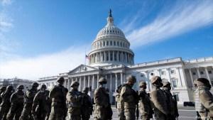 El Pentágono teme sublevación militar en día de investidura de Biden