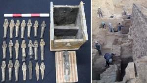 """Egipto anuncia """"grandes descubrimientos"""" en la necrópolis de Saqqara que """"reescribirán la historia de esta región"""""""