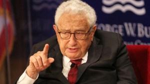 Henry Kissinger advierte a Washington de aceptar el nuevo orden multipolar global o si no…