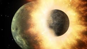 Científicos suponen que hay restos del protoplaneta alienígena Theia dentro de la corteza de la Tierra