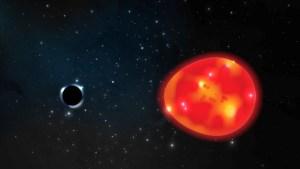 Descubren el agujero negro más pequeño de nuestra galaxia y lo apodan 'el Unicornio'