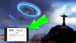 Archivos OVNI secretos sobre encuentros con seres extraterrestres luminosos en 2008 en Brasil se hacen públicos por primera vez