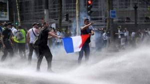 Miles de personas protestan en varios países contra el confinamiento, pasaporte covid y las vacunas obligatorias