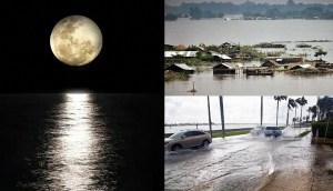 La NASA advierte que un 'bamboleo' en la órbita de la Luna podría causar inundaciones récord en la Tierra