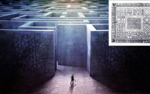 """Un """"colosal laberinto subterráneo"""" descubierto en Hawara, Egipto"""