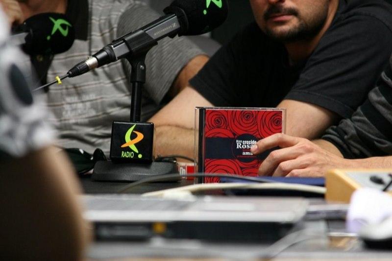Presentacion del CD en Canal Extremadura Radio