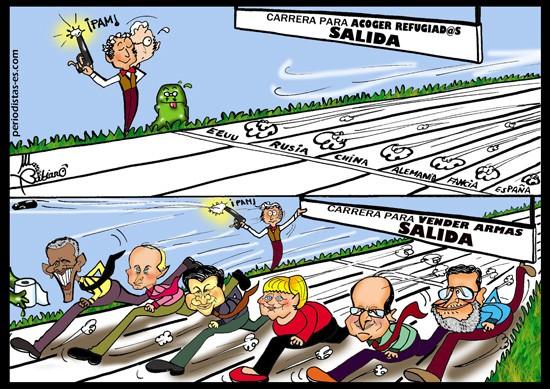 La carrera de l@s políticos…