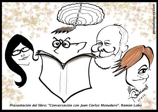 Olga Rodríguez, J.C. Monedero, Ramón Lobo y Cristina Pardo