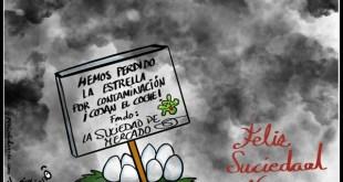 Madrid: ¡Feliz contaminación!