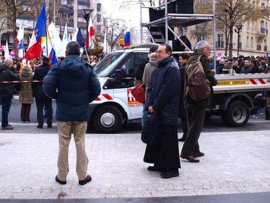 Antonio García: manifestación contra el matrimonio igualitario en Francia