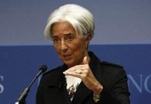 Christine Lagarde, presidenta del FMI