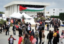 Palestinos en el FSM 2013