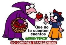 Campaña de Greenpeace No compres transgénicos
