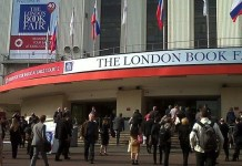 Entrada a la London Book Fair 2013