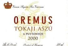 Oremus, un sangre de toro de Hungría
