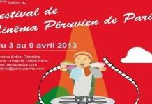 Cartel del Festival de Cine Peruano en París