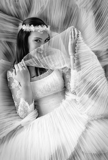 """(C) Edu López Photography. """"Entre algodones"""". Premio en la categoría Foto de la novia en los World Wedding Photo 2013"""