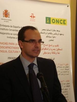 Alfredo Martínez, ministro consejero de la Embajada de España en El Cairo