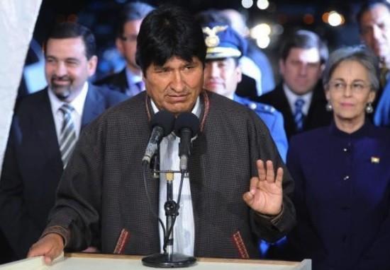 El presidente de Bolivia, Evo Morales. Foto: Télam