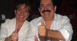 Gabriel Zelaya y Xiomara Castro