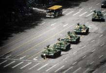 (C) Stuart Franklin. Tiananmen Square, 1989