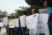 Manifestación en favor de Beatriz en El Salvador
