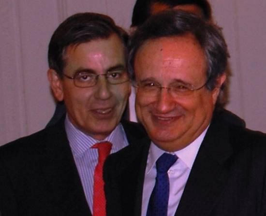 Ángel Boixadós, codirector del curso, y Rafael Villaseca