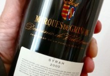 Marqués de Griñón Syrah 2000. La vuelta al mundo en 80 vinos/10