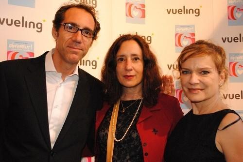Javier Baladia, Victoria Bermejo y Mireia Ros en Different 6