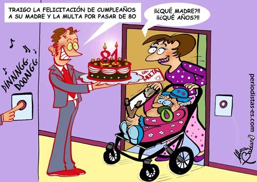 Cumpleaños y multas
