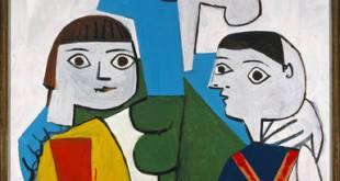 Françoise con Claude y Paloma