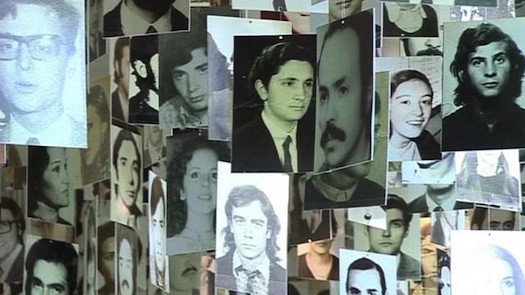 Fotografías de desaparecidos tras pasar por la ESMA