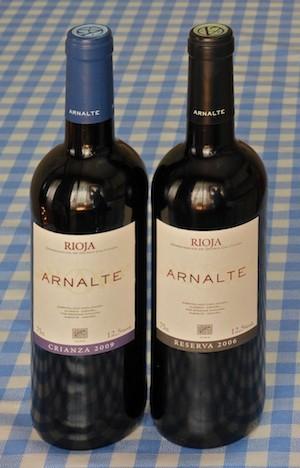 Arnalte Crianza 2009 y Anale Reserva 2006. (C) Manuel López
