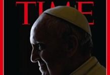 El papa Francisco en la portada de Time del 29 de julio de 2013