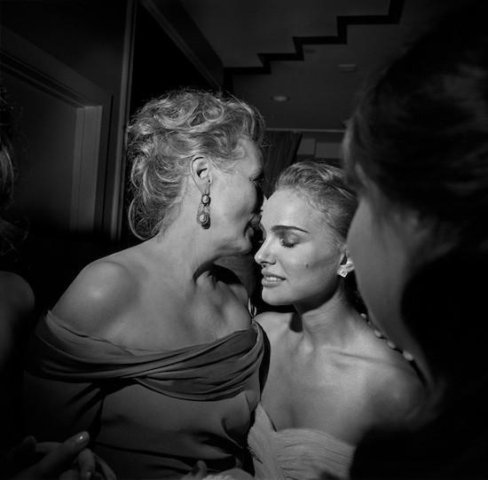 Meryl Streep and Natalie Portman, LA, 2/2009 © Larry Fink