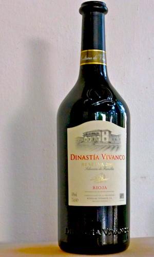 Dinstía Vivanco Reserva de Familia 2007