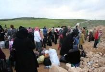 Familias con niños se encuentran entre quienes han sido bloqueados para cruzar a Jordania © Jordania Pix / Getty Images