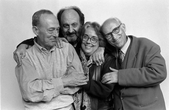 Xavier Miserachs, Leopoldo Pomés, Colita y Oriol Maspons. (C) Carles Ribas